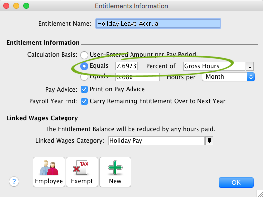 calculating payroll hours
