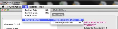 how to prepare bas using myob
