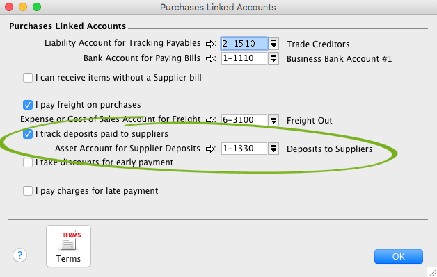 Supplier deposits - Support Notes: MYOB AccountEdge - MYOB Help Centre
