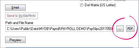 Unable to email pay slips using SMTP - Support Notes: MYOB Payroll