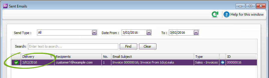 how to pay an myob invoice online