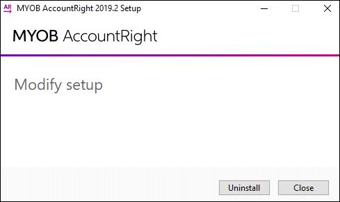 Installation troubleshooting - MYOB AccountRight - MYOB Help