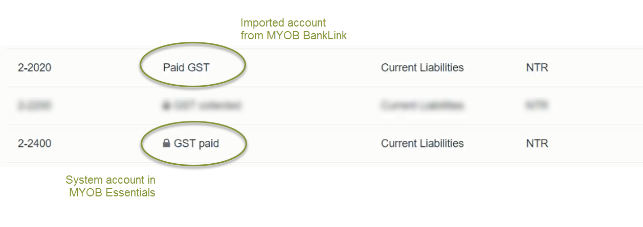 how to fix gst collected and paid balances myob