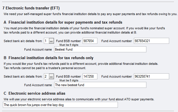 Item 7 - Electronic Funds Transfer - PS Help: Tax