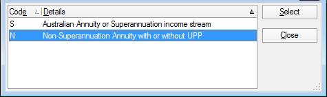 Annuities and superannuation income streams worksheet (asi