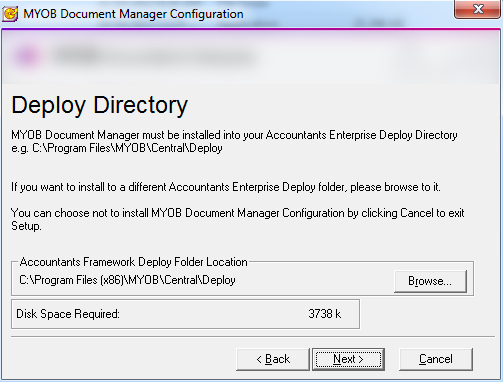 Document Manager install guide—5 4 30 (Australia & New