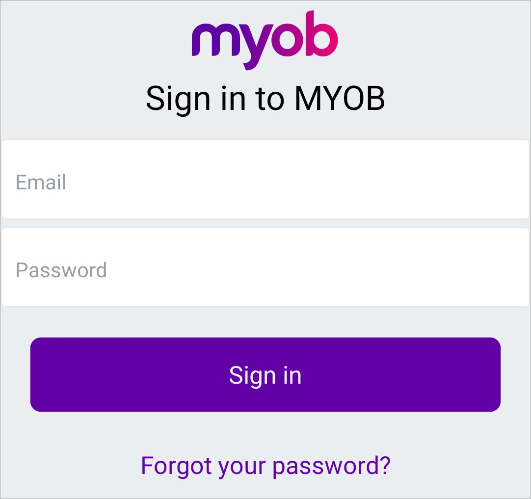 Using The Myob Invoice App Myob Accountright Myob Help Centre