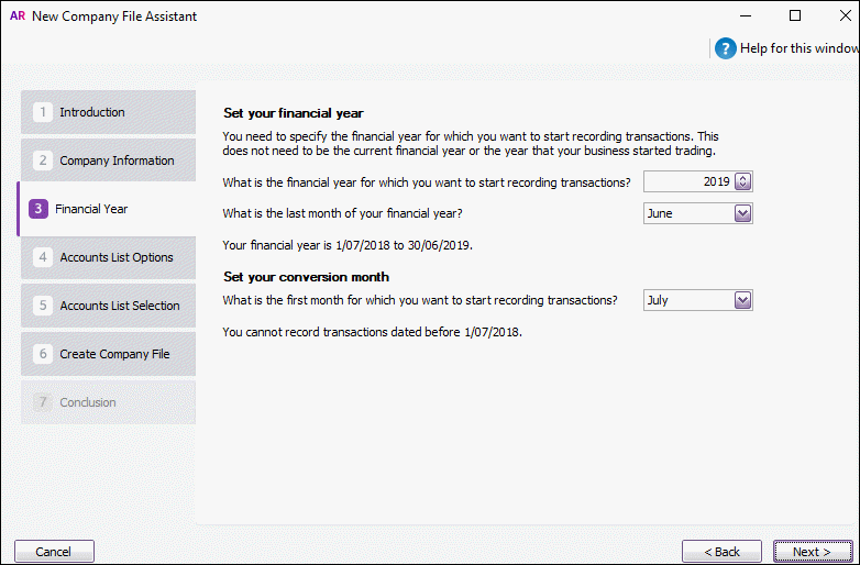 Create a company file - MYOB AccountRight - MYOB Help Centre