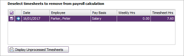 include employee timesheets in a pay run myob accountright myob