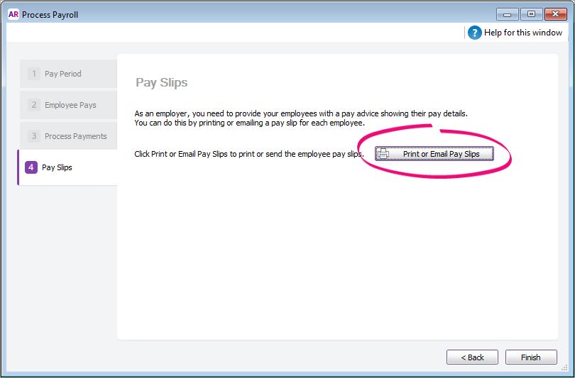 Print or email pay slips - MYOB AccountRight - MYOB Help Centre