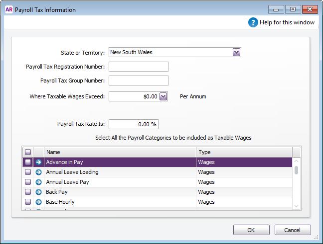 Payroll tax reporting MYOB AccountRight MYOB Help Centre – Payroll Tax Calculator