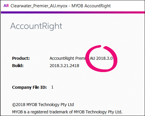 how to get online file in myob