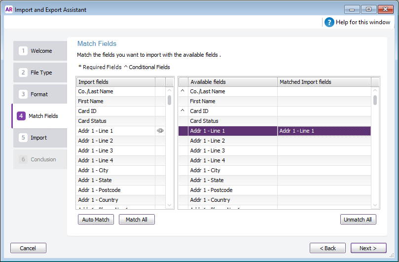 Importing data - MYOB AccountRight - MYOB Help Centre