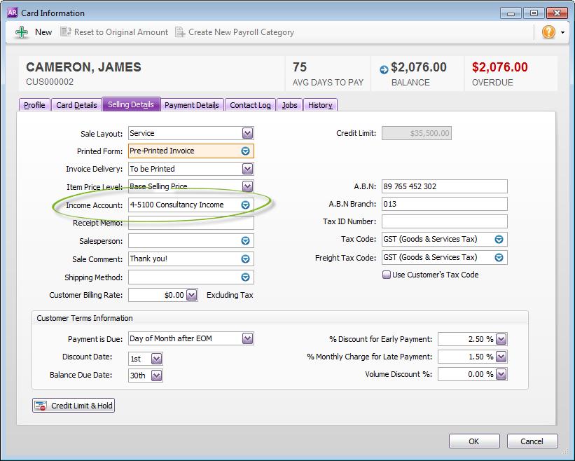 change default accounts payable account quickbooks