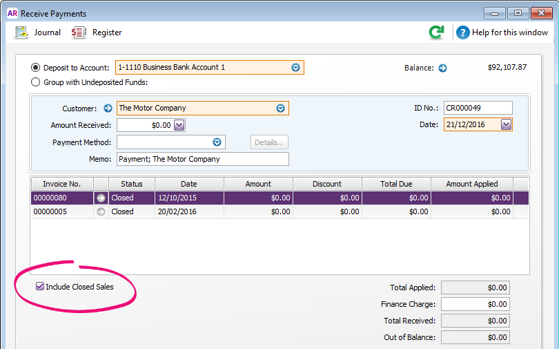 sage line 50 invoice template - customer overpayments and double payments myob