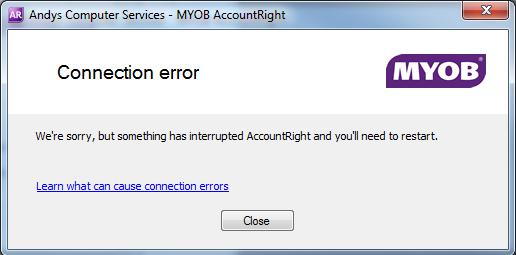 thesis server error