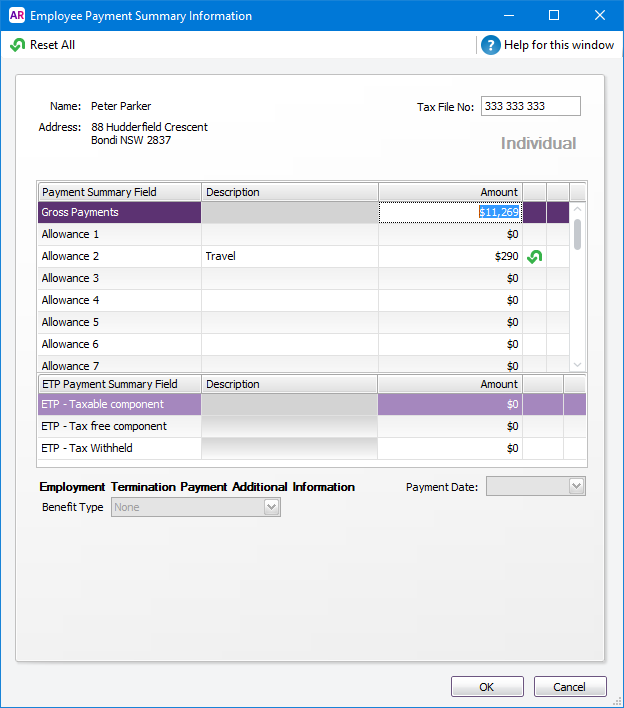 The Myob Help Summaries Review - Summaries Payment Centre